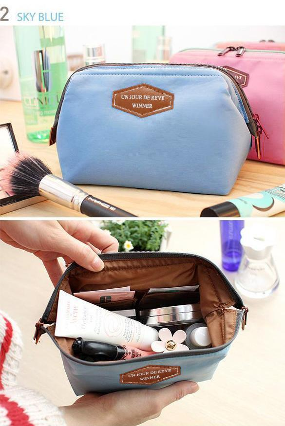 Travel Makeup Bag Cosmetic pouch 4