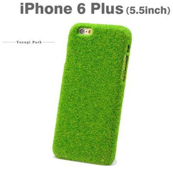 iPhone 6 I6 PLUS 創意 送禮 草皮 綠色草皮 手機殼 保護套