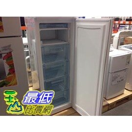 [COSCO代購 如果沒搶到鄭重道歉] W23176 Frigidaire 富及第 185公升 直立式冷凍櫃 FFU07M1HW