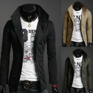 韓系남성 休閒男士夾克 男時尚새로운 夾克男十天預購+現貨