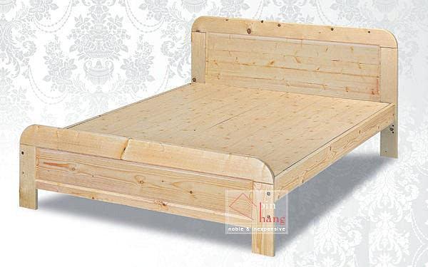 【尚品傢俱】 ※自運價※ Q-GF-E08 松木實木5尺雙人床台