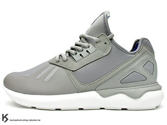kumastock 海外直送 最終入荷 Y-3 QASA 中底 ADIDAS ORIGINALS TUBULAR RUNNER GREY 灰色 銀灰 武士 (B34312) !