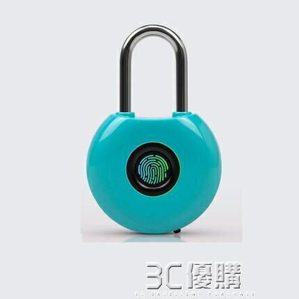 指紋鎖-指紋掛鎖智慧箱包電子鎖密碼鎖掛鎖健身房小鎖頭學生宿舍櫃子鎖