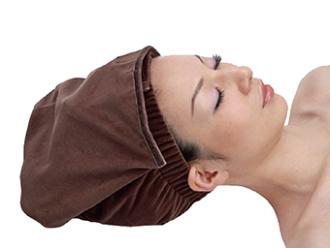 天鵝絨三角頭巾