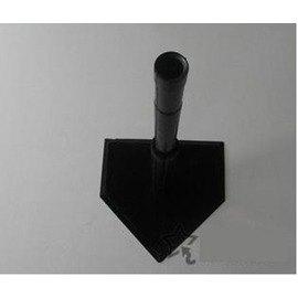 【打擊練習器-五孔-橡膠-底盤42*43cm-1套/組】棒球打擊T座T架橡膠打擊練習器打擊器,套管二支可調節高度95~55cm-56005