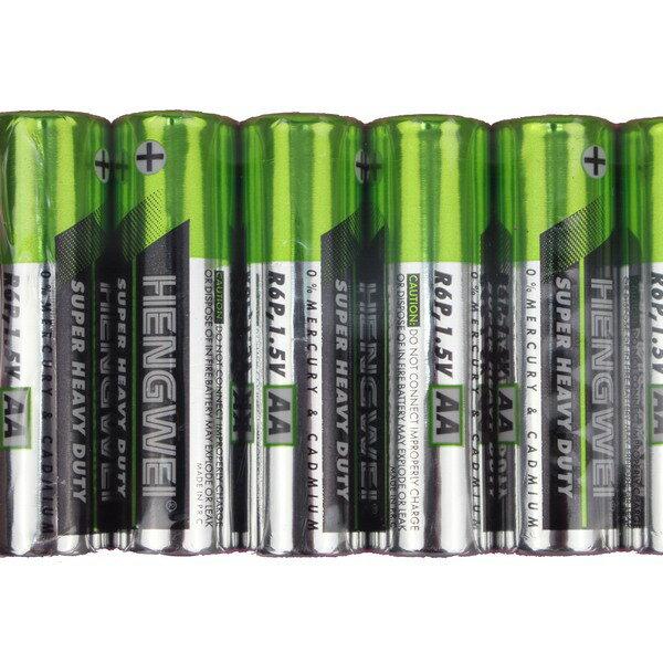 鼎極碳鋅3號綠能電池 AA-3號電池/一袋10包入(一包10個)共100個入{促59}無汞環保碳鋅電池