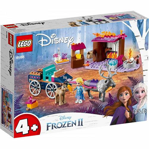 樂高LEGO 41166  Disney Princess 迪士尼公主系列 - Elsa's Wagon Adventure - 限時優惠好康折扣