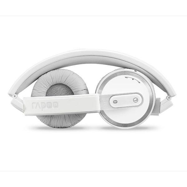 ★綠光能Outlet★福利品★Rapoo 雷柏 H6080-灰-藍芽無線摺疊耳機麥克風