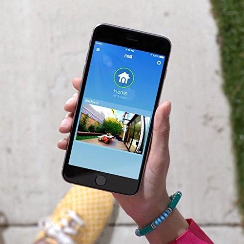 Nest Cam Outdoor Security Camera, Works with Amazon Alexa 5