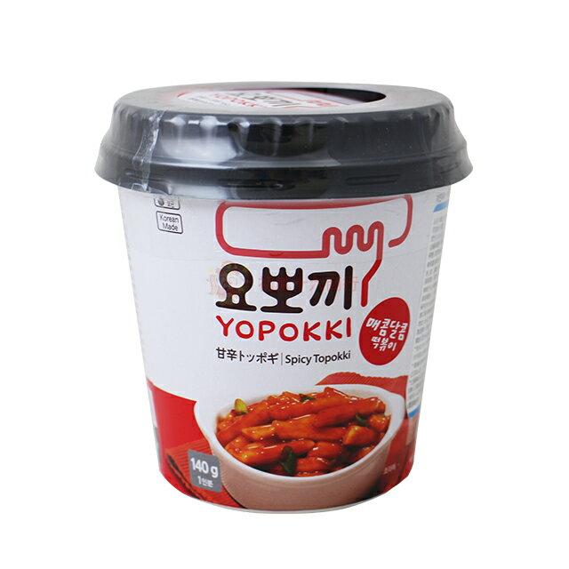 【0216零食會社】韓國辣炒年糕隨身杯140g