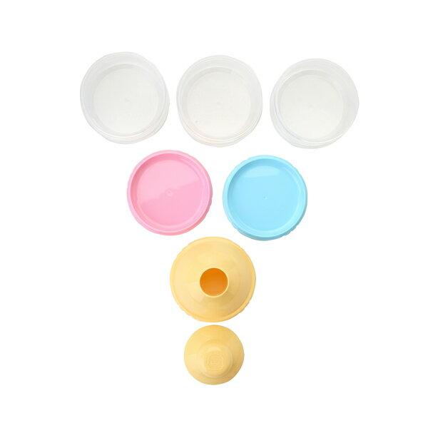 『121婦嬰用品館』黃色小鴨 不易漏3層奶粉罐 1