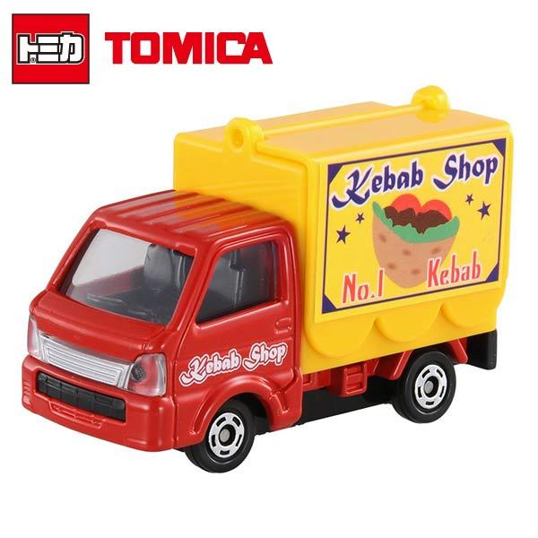 ~ ~TOMICA 多美小汽車 三菱 SUZUKI 行動販賣車 NO.57 移動販賣車 玩