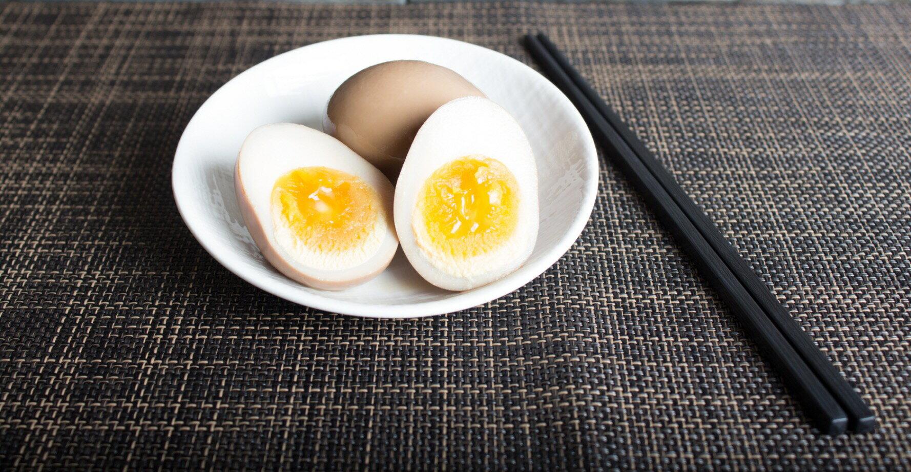 【東京屋台拉麵世貿店】溏心處女黃金蛋