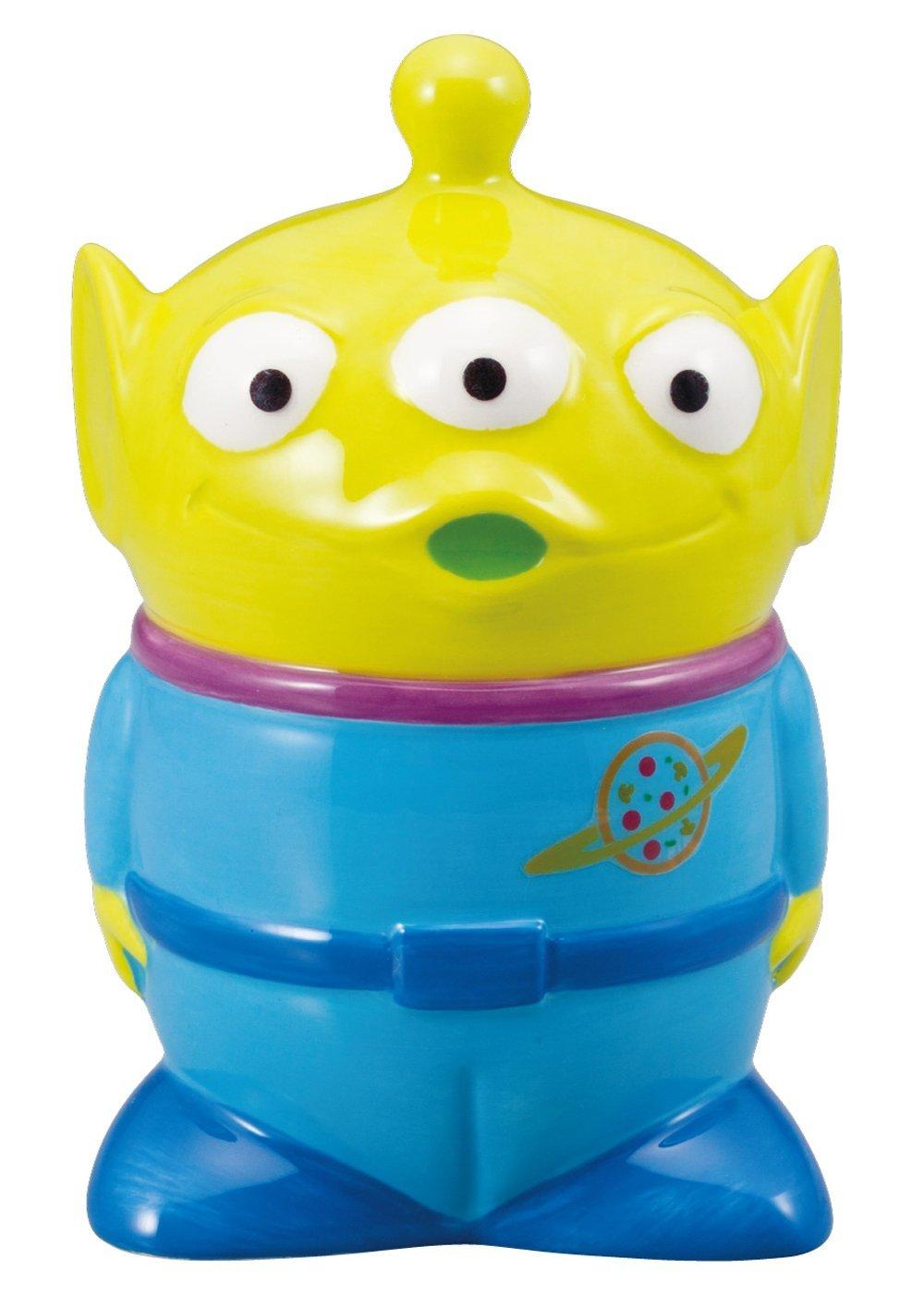 X射線【C229346】三眼怪造型陶瓷存錢筒,玩具總動員/撲滿/錢筒/儲蓄罐/存錢罐/悶葫蘆罐/聚財神器