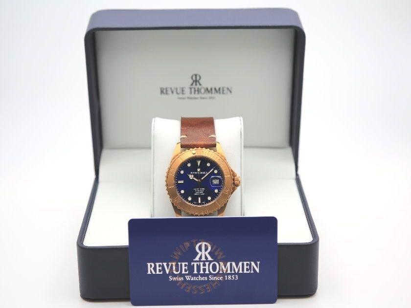 REVUE THOMMEN 梭曼 Diver XL Automatic Men's Watch REF. 17571.2595 6