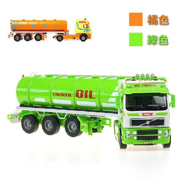 【888便利購】【KDW凱迪威】1:50高仿真合金油罐車(綠車)(625028)(高質量模型)(授權)