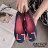 ZALULU愛鞋館 7U316 預購 熱銷款 搭色淑女款平底防水娃娃雨鞋-黑 / 灰 / 藍 / 紫-36-40 4