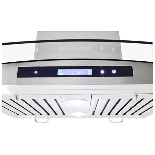 "AKDY NEW 30"" GV-198KZ4-30 Stainless Steel Kitchen Wall Range Hood w/Flat Baffle Filters 2"