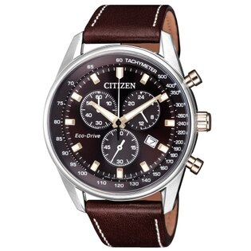 CITIZEN星辰競賽速度計時光動能男錶AT2396-19X