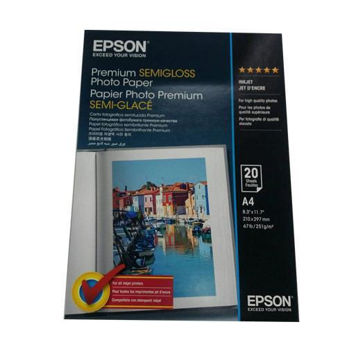EPSON A4頂級柔光相片紙 S041332(20入)全新原廠公司貨含稅附發票