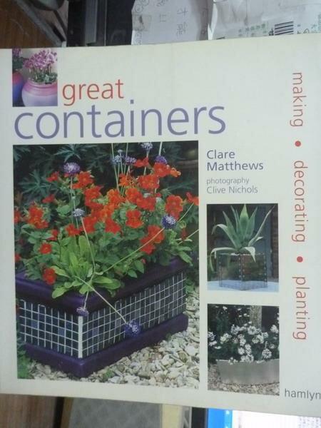 【書寶 書T7/ _PFC】Great Containers: Making_Clare