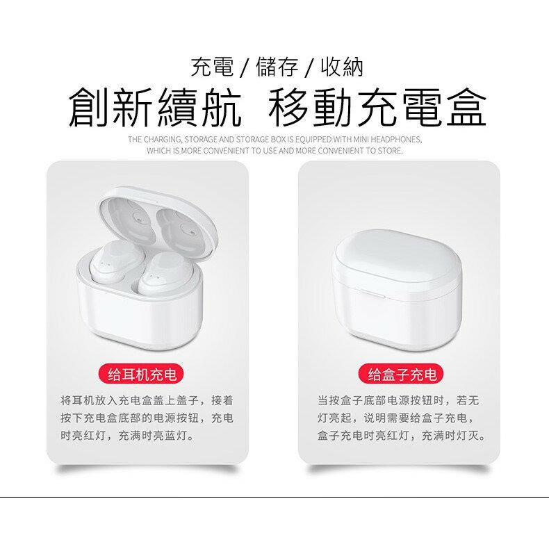 **現貨不必等** 無線迷你5.0藍牙耳機 入耳塞式 IPX5防水防塵 充電收納盒 超輕 隱形 跑步 運動 亞馬遜熱銷 6