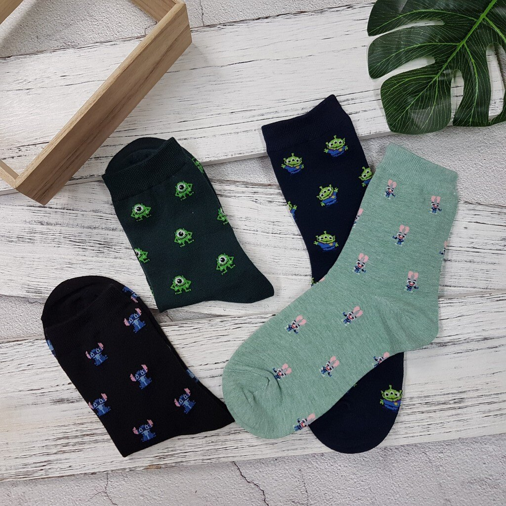 【卡通短襪】韓國襪 迪士尼滿版卡通襪 2