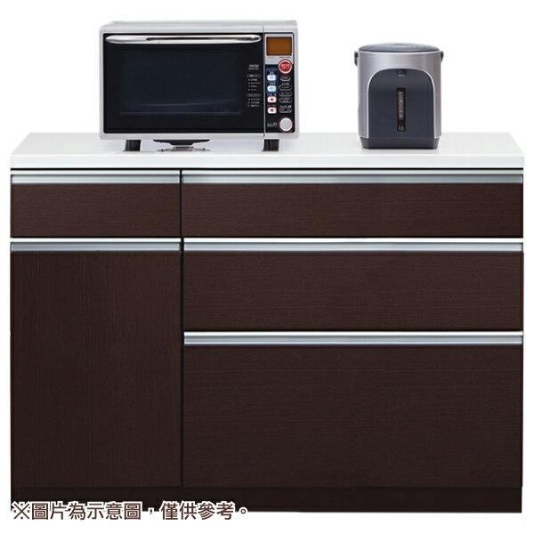 ◎廚房櫃台 CULY2 120CT DBR NITORI宜得利家居 1