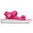 Shoestw【YH750PP】NEW BALANCE NB750 涼鞋 涼拖鞋 運動涼鞋 童鞋 中童鞋 黏帶 椰子樹 桃紅白 大人女生可穿 0