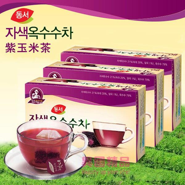 韓國 DONGSUH 紫玉米茶 60g 40包/盒 低熱量、零脂肪無負擔【特價】§異國精品§