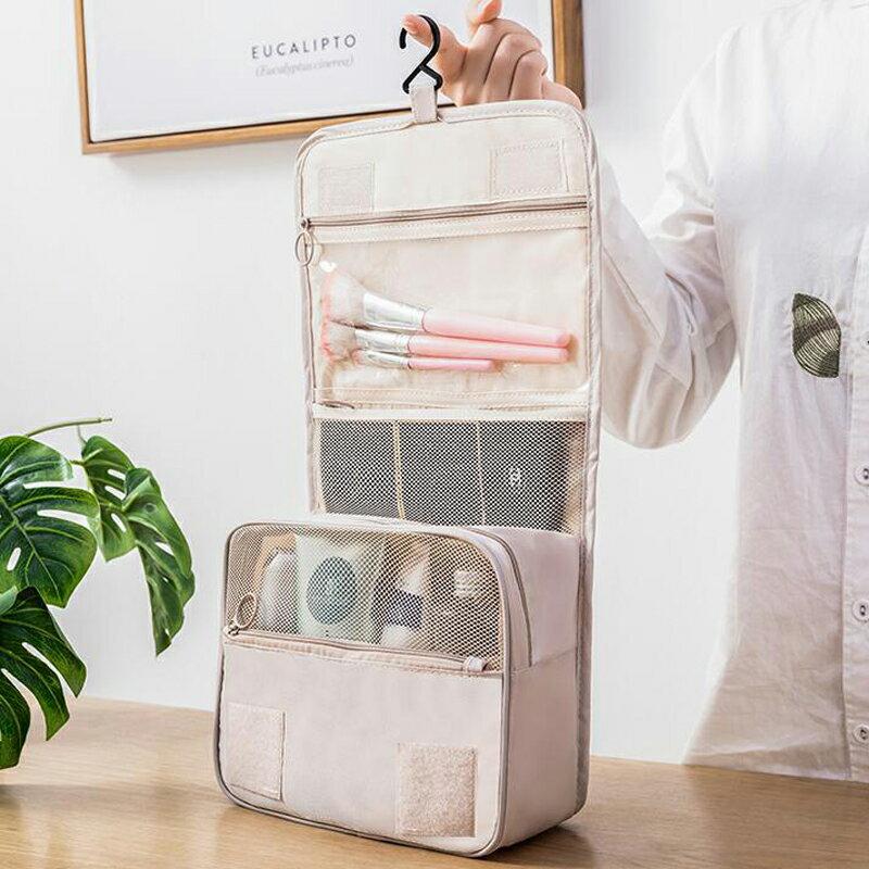 台灣現貨 旅行化妝包 大容量 收納包 收納袋 出國旅行包 拉鏈3C手機耳機用品收納袋多功能女生 保養品小包 3