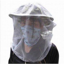 【防蚊蟲網罩-細孔紗網-直徑35*高50cm-3個/組】戶外多用叢林防蚊蟲網罩 防蜂頭罩 也可做網袋收納袋漁網(不含帽子、口巾)-76012