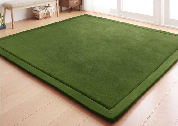 出口日本等級 日本原單 130*190CM 高級纖細珊瑚絨地毯 /  爬行墊 /  遊戲墊 /  榻榻米墊 /  運動墊 /  瑜珈墊 /  地墊 (如需其他尺寸也能訂做) 4