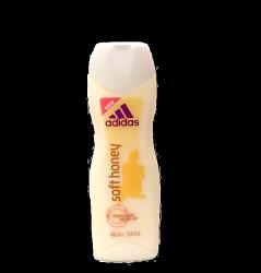 Adidas 女性專用 沐浴乳 - 蜜糖款 soft honey 400ml 英國進口 / 歐洲製造  (橘