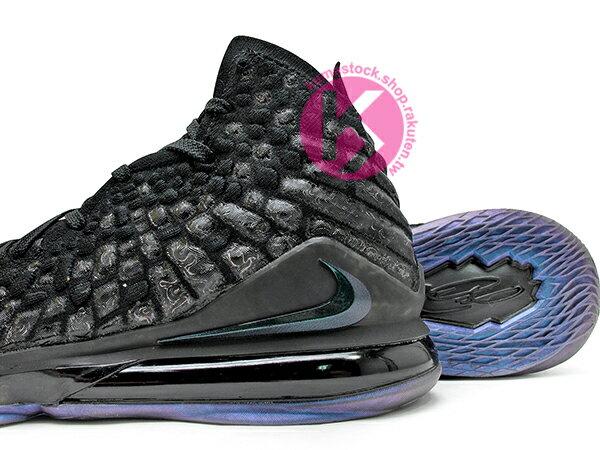 2019-2020 NBA 最新款 LeBRON JAMES 最新代言 NIKE LEBRON XVII EP 17 BLACK 全黑 全新 KNITPOSITE 飛織鞋面 前 15mm ZOOM MAX AIR 後 MAX AIR 氣墊 小皇帝 雷霸龍 KING LAKERS 頂級科技 籃球鞋 (BQ3178-001) 1119 3