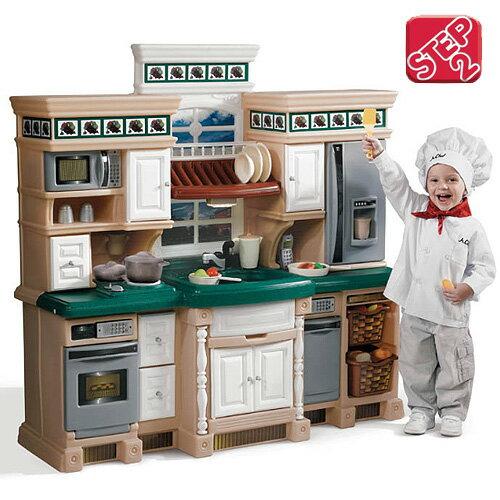 【美國 STEP2】扮家家-生活家廚房 12007248