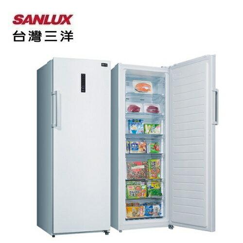 【SANLUX台灣三洋】直立式冷凍櫃250L風扇式自動除霜《SCR-250F》全新原廠保固
