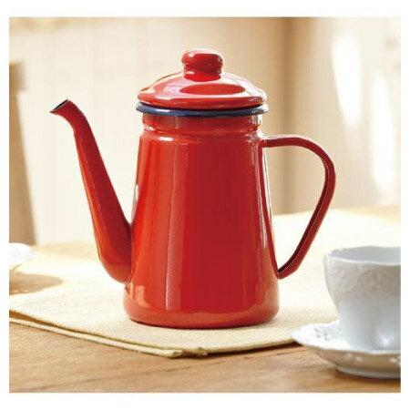 琺瑯咖啡壺 1.1L ENABE023RE NITORI宜得利家居 0