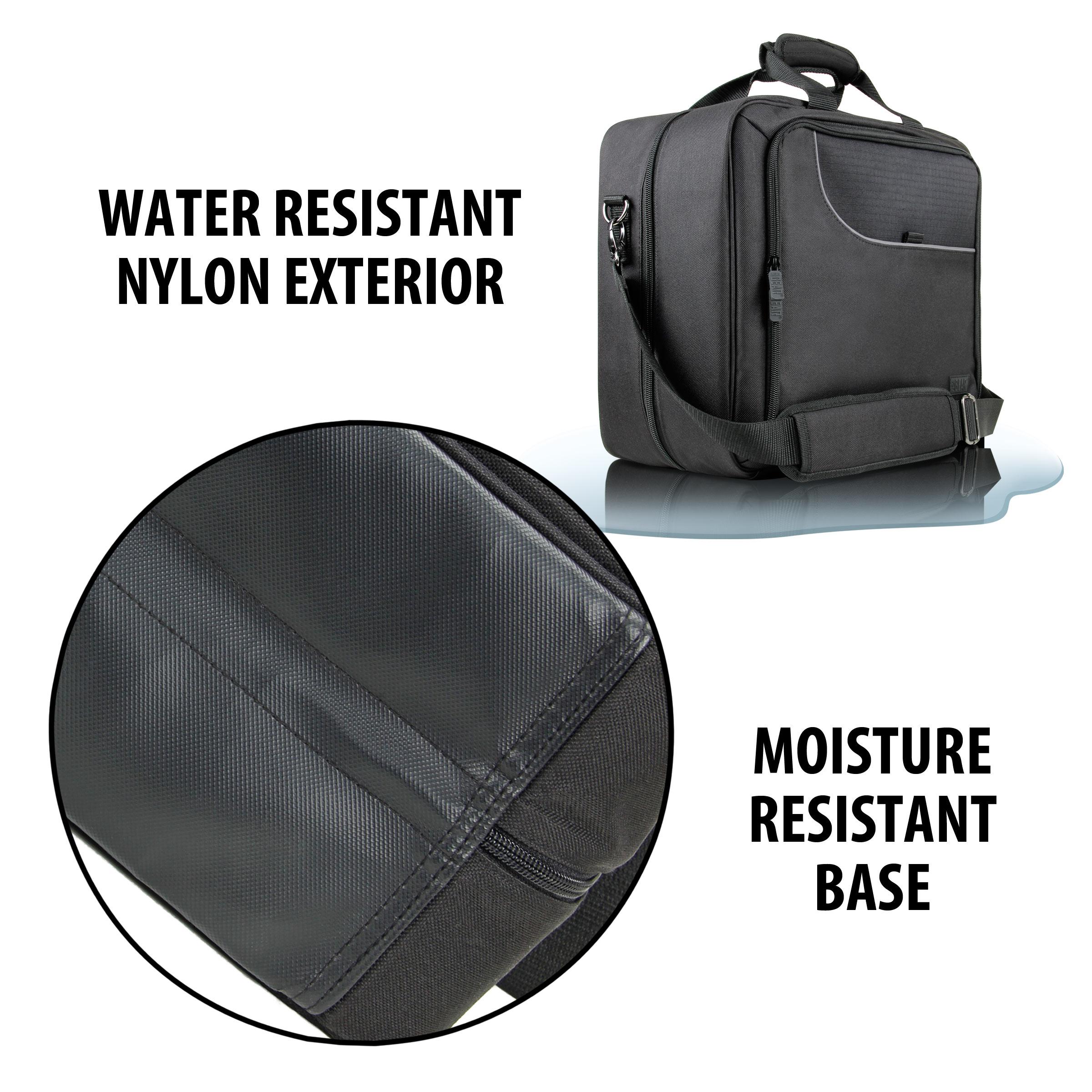 USA Gear Meccano M.A.X Storage Carrying Case - Shoulder Strap & Customizable Interior 6