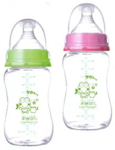 大眼蛙 PP寬口超乳感防脹奶瓶 250c.c.  320c.c. 兩色