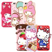 美樂蒂My Melody周邊商品推薦到【Sanrio】iPhone 6 Plus/6s Plus 可愛2D立體保護套