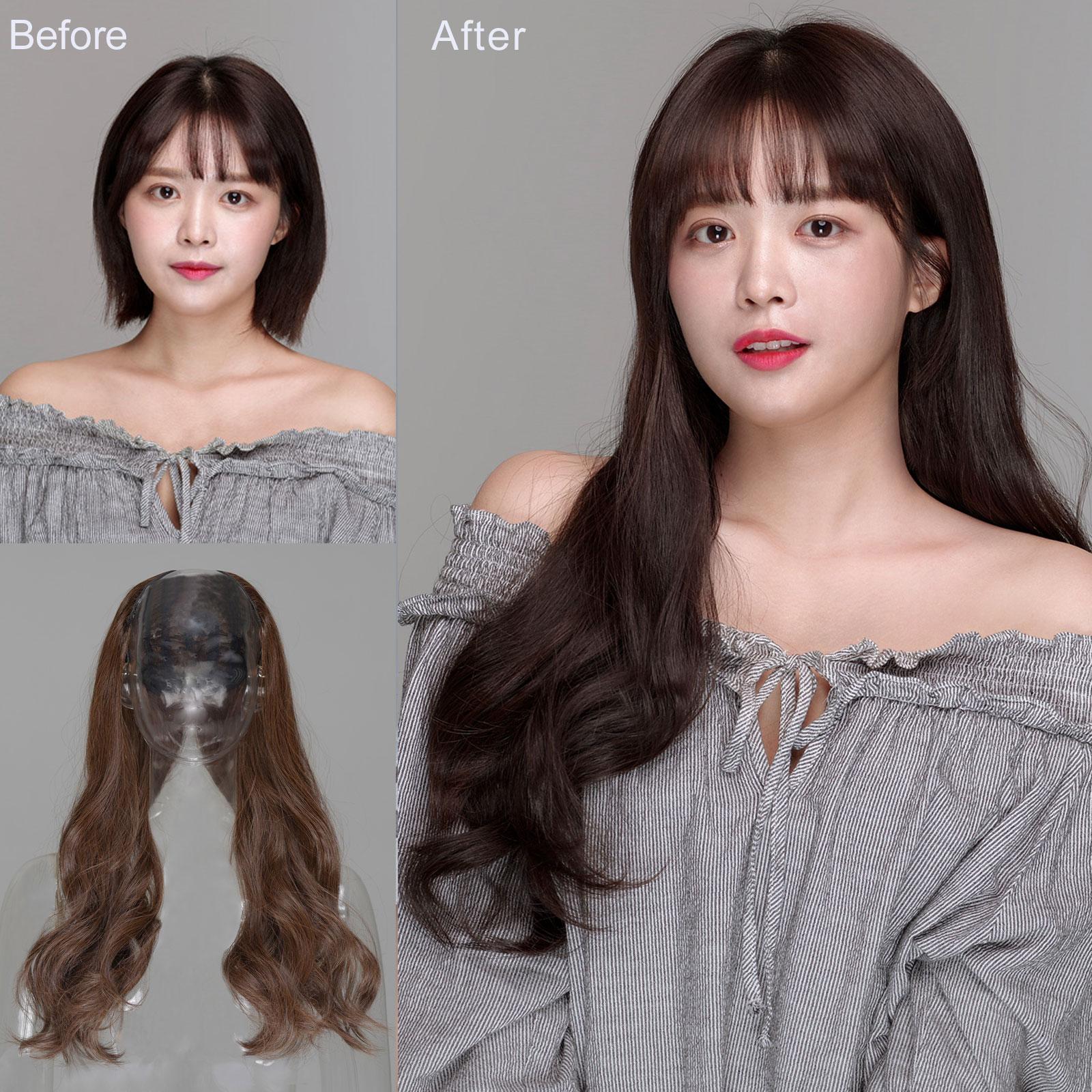 <br/><br/> 全新設計U型半罩式假髮 韓系浪漫大捲長髮 逼真自然【MW356】☆雙兒網☆<br/><br/>