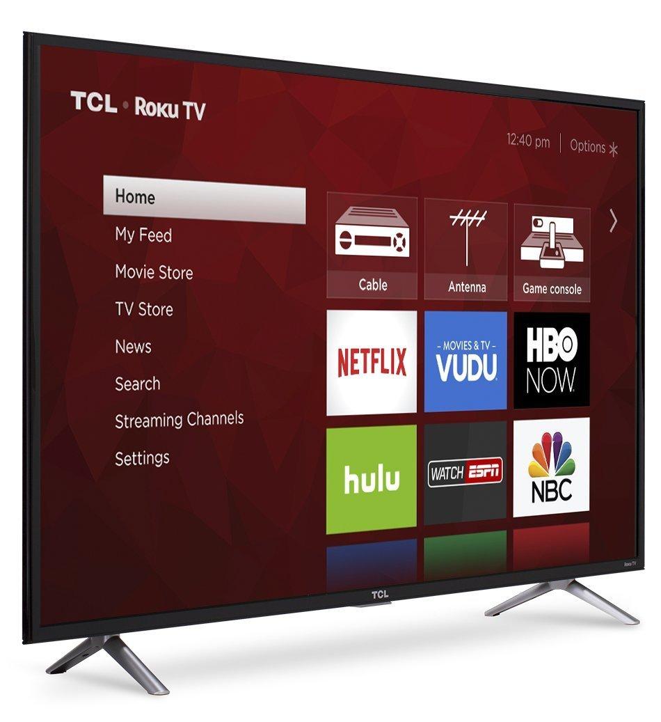 "TCL 49S405 - 49"" Roku Smart 4K 120Hz UHD HDR HDTV 1"