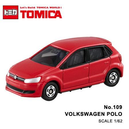 日貨 TOMICA No.109 VOLKSWAGEN POLO 福斯 絕版 真車系列 汽車模型 多美小汽車【N201367】