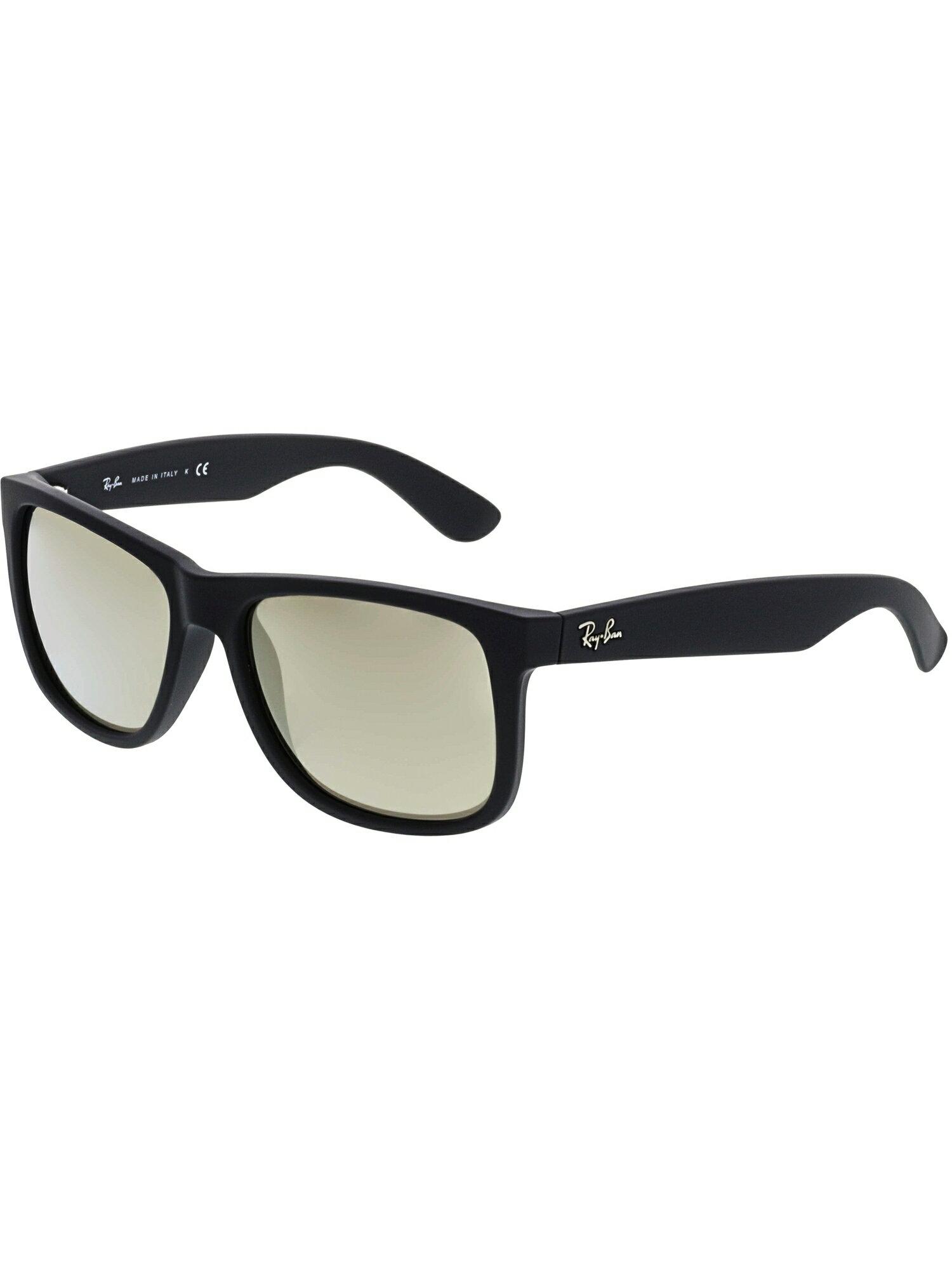 fb873f9e98 Ray-Ban Men s Justin RB4165-622 5A-54 Matte Black Rectangle Sunglasses
