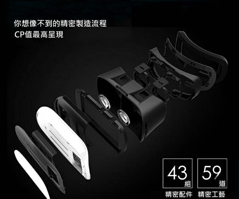 【今日下殺230元】VR Box 3D眼鏡 虛擬實境頭盔 Case 類htc Vive Gear PS【DD002】 2