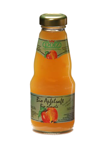 ★野餐必備★德國好鮮有機蘋果汁(200ml/瓶)【清淨生活】★100%原汁★隨手瓶方便攜帶