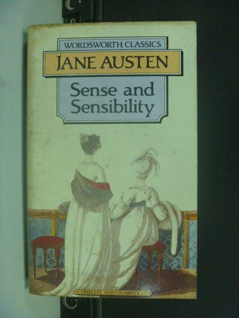【書寶二手書T4/原文小說_GCT】Sense and Sensibility 理性與感性_Austen, Jane