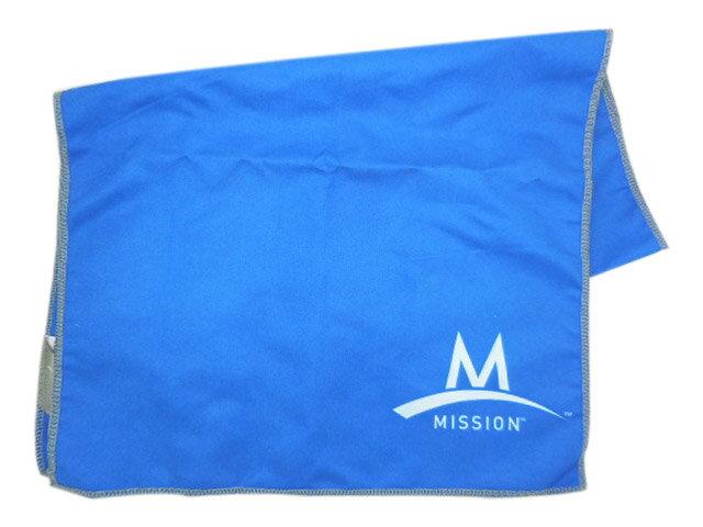 MISSION涼感 COOLCORE降溫毛巾,UPF 50防曬,戶外休閒,馬拉松路跑降溫必備!34*94公分