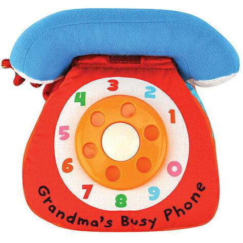 【K'sKids】進口布書:奶奶的熱線電話Grandma'sBusyPhone